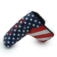 American USA Stars & Stripes Flag Putter Cover Headcover für Scotty Cameron