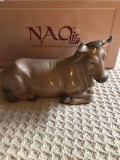 Retired Nao Lladro Spain Calf # 309 Xmas Christmas Nativity Porcelain Figurine