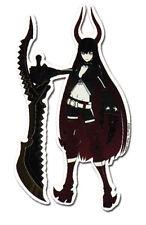 Sticker - Black Rock Shooter - Black Gold Saw New Anime Licensed ge55070