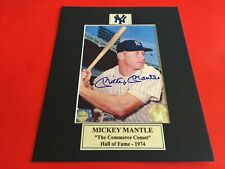 Mickey Mantle Signed 5x7 Photo with Certificate of Authenticity-COA