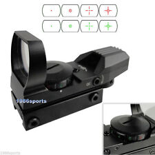 Hunting 4 Type Reticle Red Green Dot Sight for 20mm Picatinny Weaver Rail R01