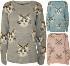 Animal Print Machine Washable Medium Knit Regular Jumpers & Cardigans for Women