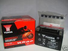 BATTERIE YUASA YTX9-BS MV AGUSTA Brutale 750 2001 2002 2003 2004 2005 2006 2007