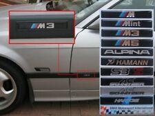 BMW E36 E39 M-Sport Motorsport M3 M5 Side Badges Resin Domed Sticker Decals