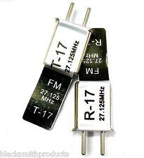 RC Remote Control 27 MHZ 27.125 FM Crystal TX & RX