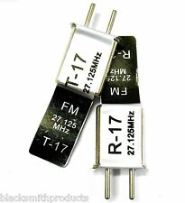 RC telecomando 27 MHz 27.125 FM Crystal TX & RX