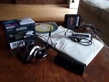 SONY MD MZ-N510 MDLP MINI DISC PLAYER/RECORDER CHARGER REMOTE HEADPHONES.5 FREE