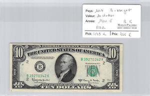 USA United States $10 Dollars 1950 E York B39270342K Pick 325 E