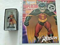 ROBIN #5 DC COMICS SUPEREROI EAGLEMOSS COLLEZIONE UFFICIALE FIGURE IN PIOMBO