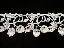 "Acorn Design Venise Lace - 10 yds for $18.99 - 2"" Wide - White Rayon"