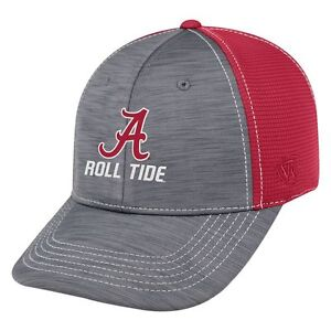 Alabama Hat Top Of The World Upright Performance One Fit