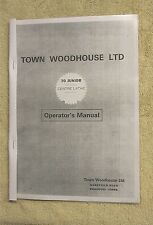 Town Woodhouse 70 Junior Lathe Manual