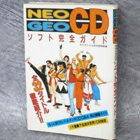 NEO GEO CD Soft Perfect Game Guide Japan Cheat Book KB