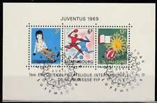 Luxemburg 1969 gestempeld block 8 - Juventus (SG248)