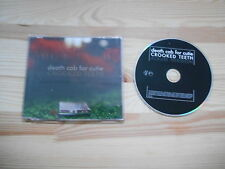 CD Punk Death Cab For Cutie - Crooked Teeth (1 Song) Promo ATLANTIC