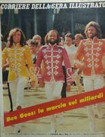 CORRIERE DELLA SERA ILLUSTRATO N.12 1979 BEE GEES