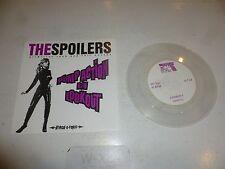 "THE SPOILERS - Pump Action - 1998 US 2-track 7"" Vinyl Single (Clear Vinyl)"