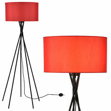 [lux.pro Luce a stelo Rosso [Altezza 155cm] Lampada a stelo Lampada da pavimento