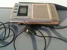 Aiwa CR-DS700M Radio Receiver FM/AM/TV Tuner Digital Area Retractable Headphone