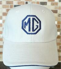 Unisex Baseball Cap with Embroidered MG Car Logo