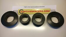 Kawasaki ZX10 ZX10R 2006- 2010 Superbike captive  wheel Spacers. Black
