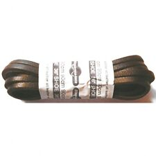 BRITISH QUALITY Dark Brown Leather laces 90cm long