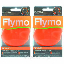 2 FLYMO Multi Trim 250D 250DX 300D 300DX FLY060 Strimmer Trimmer Head Cap FLY060