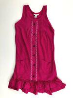 Naartjie Girls 7  XL Hot Pink Summer Cotton Dress