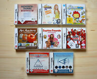 NDS - 8 Spiele für Nintendo DS in OVP (Set 11)