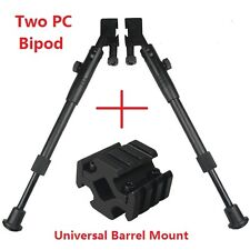 Two PC Rail Adapter Bipod with Universal Mount for Mosin Nagant and SKS