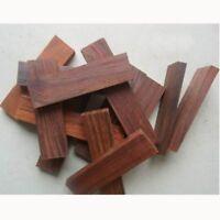 2 X Wood Knife Scale Handle Blanks Rosewood DIY Craft Making Wood Turning 4.7''