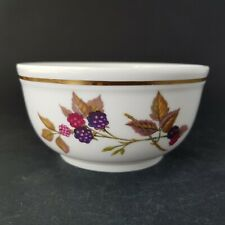"Small Vintage Royal Worcester Evesham Gold 4.3/4"" Pudding Bowl Christmas Pud :B9"