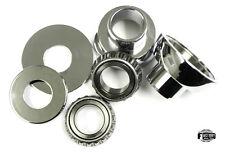 "Harley bobber chopper neck cups and bearings 1"" springer 24-0322 frame big twin"
