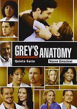 COFANETTO DVD - GREY'S ANATOMY STAGIONE SERIE 5 SERIE TV - 7 DVD - Nuovo