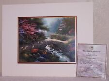 Garden of Promise III   Bridge of Faith   Print by Thomas Kinkade