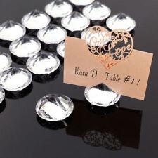 Articles d'arts de la table transparent pour le mariage