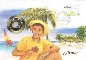 Numisbrief Aruba - Munt Aruba 1 florin 1988