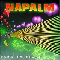 Napalm Zero to black (1990) [CD]