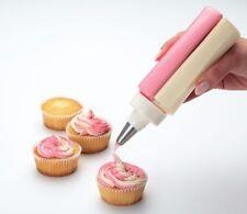 Kitchencraft riutilizzabile Squeezy DUAL Bottiglia Ghiaccio Con S / ACCIAIO nozzle.cupcakes