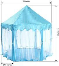 Monobeach Princess Tent Girls Large Playhouse Kids Castle Play Tent with Star Li