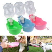 Pet Dog Water Bottle Travel Puppy Drinking Bowl Cup Outdoor Feeder Dispenser Cw