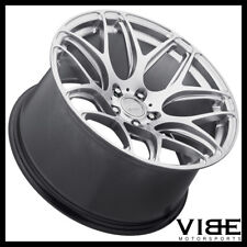 """20"""" MRR GROUND FORCE GF9 SILVER CONCAVE WHEELS RIMS FITS CHEVROLET CAMARO"""
