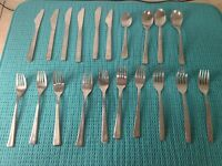 Vintage Airline First Class Silverware Flatware United Northwest NEEDS CLEANING