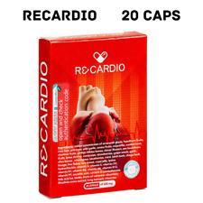 RECARDIO Herbal Cardio Capsules hypertensio, blood pressure, 1 BOX = 20 caps