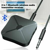 Kabelloser Bluetooth Audio Sender Empfänger Stereo Musik RCA Adapter AUX N3F8