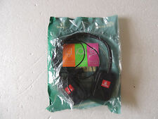 Emirates airlines headphones  sealed in nylon double pin socket  new