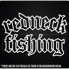 REDNECK FISHING HUNTING BROWNING TRUCK USA CUTE FUNNY DECAL STICKER MACBOOK CAR