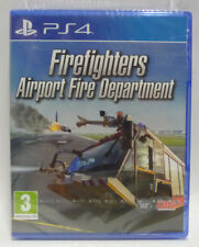 FIREFIGHTERS AIRPORT FIRE DEPARTMENT - PLAYSTATION 4 NUOVO NEW REGION FREE