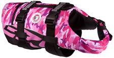 EZYDOG SEADOG LIFE JACKET FLOTATION AID FOR DOGS Size Large Pink Camouflage NWT