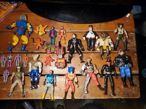 Lot 3 Of Mostly 80's & 90's Action Figure